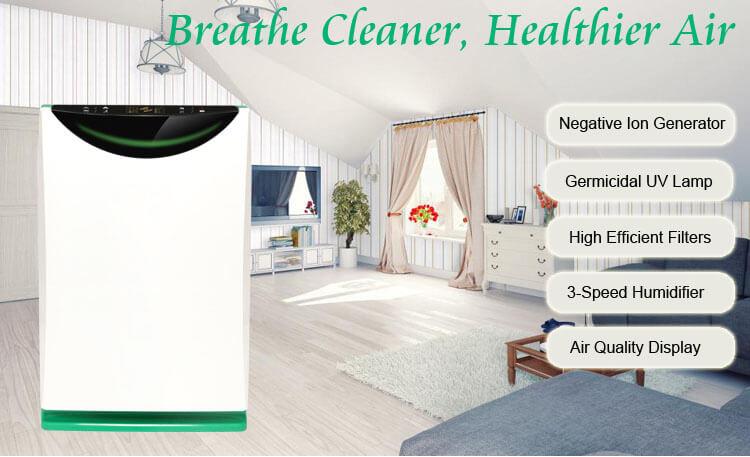 001 air purifier k02a