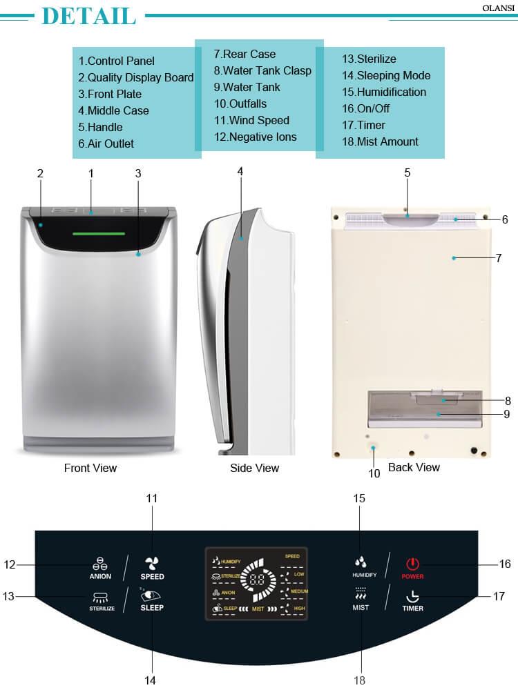 002 water purifier k02b