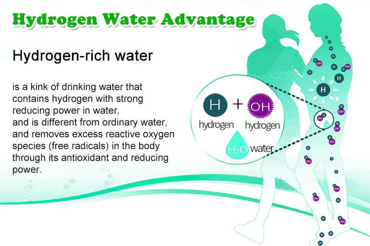 003 advantage hydrogen water E