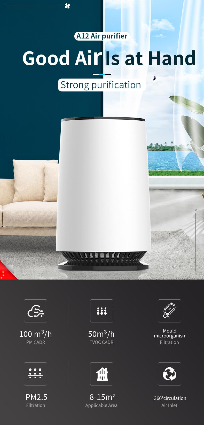 Desktop air purifier 01