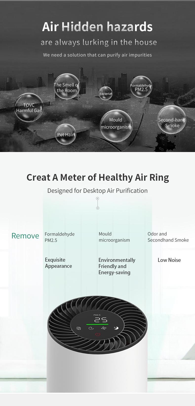 Desktop air purifier 02