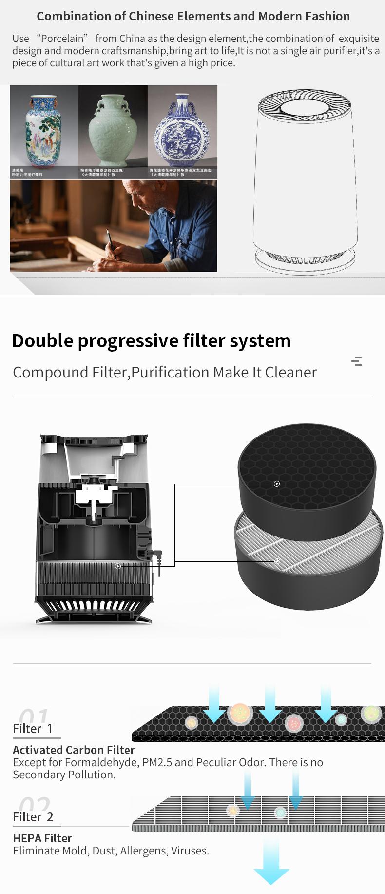 Desktop air purifier 03
