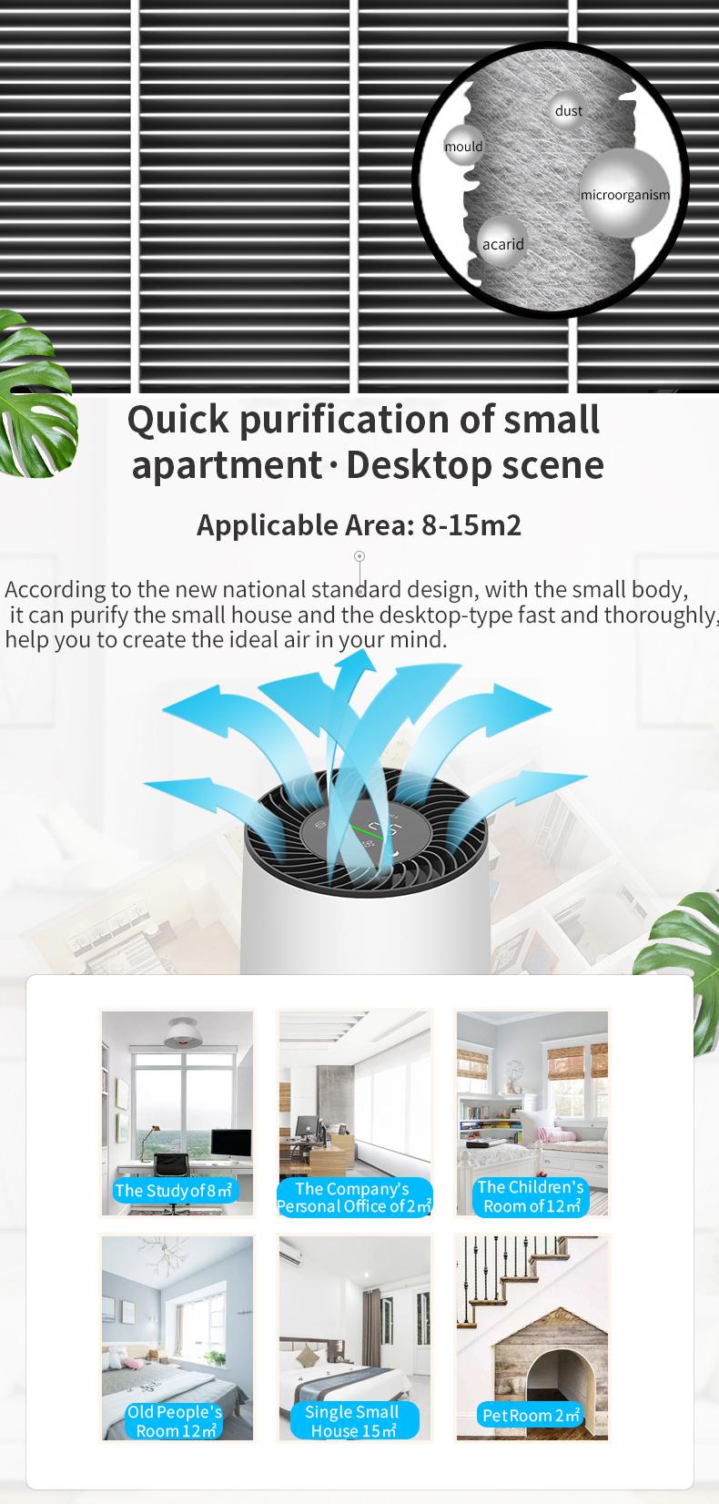 Desktop air purifier 05