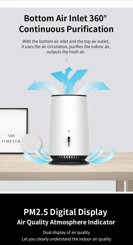 Desktop air purifier 06