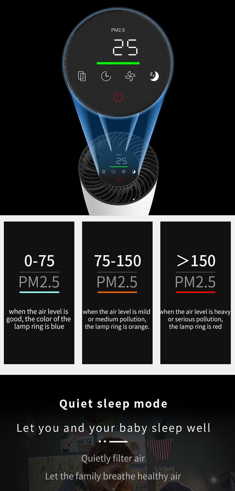 Desktop air purifier 07