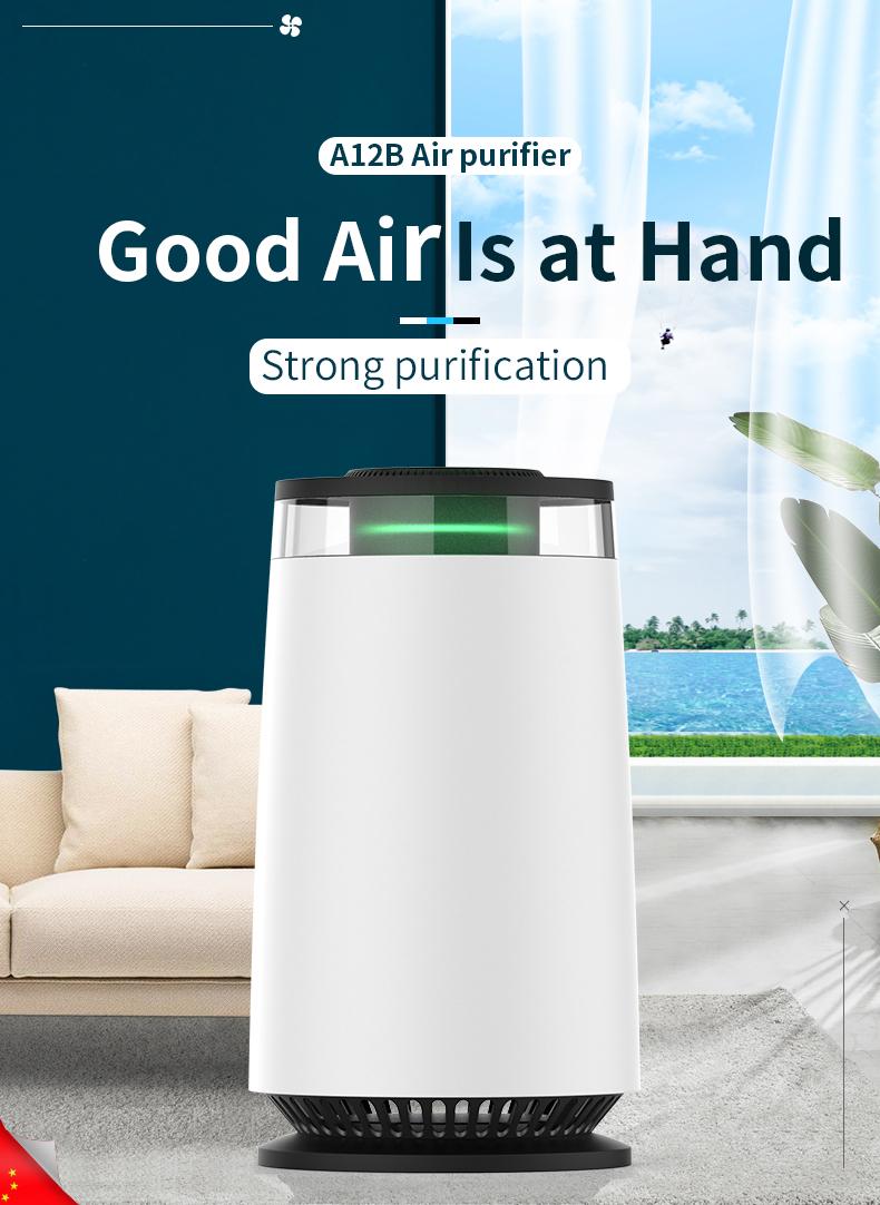 Desktop Air Purifier A12B 01