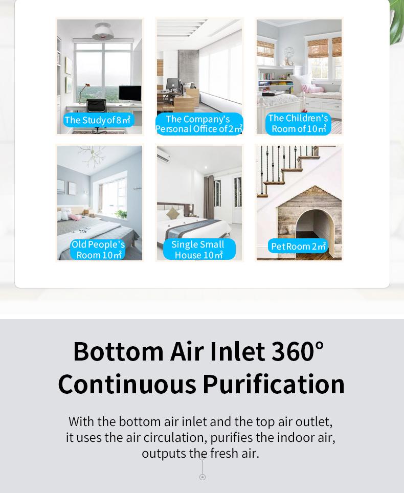 Desktop Air Purifier A12B 07