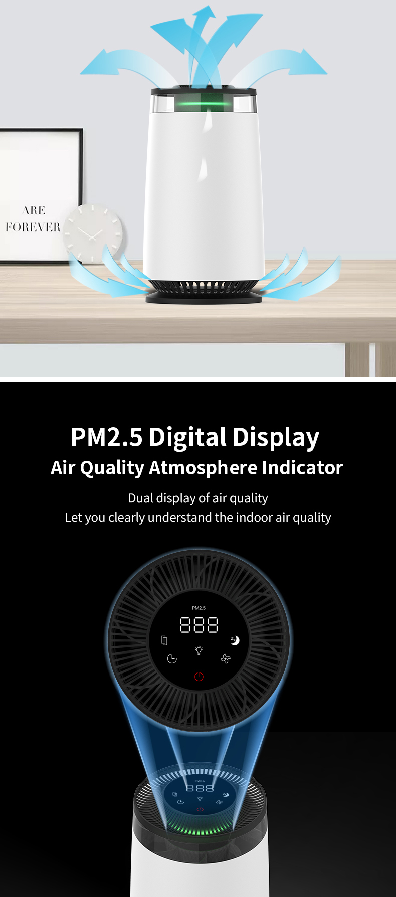 Desktop Air Purifier A12B 08